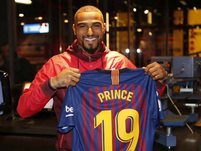 'Strangest transfer in January' - Fans surprised by Kevin-Prince Boateng's Barcelona move