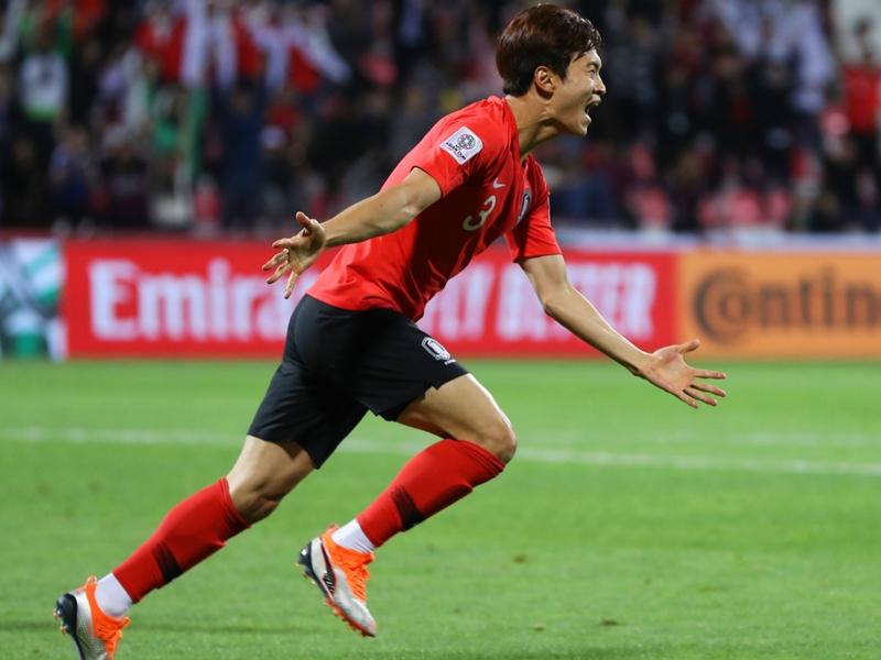 South Korea 2 Bahrain 1 (after extra time): Kim Jin-su seals quarter-final spot