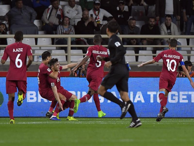 Qatar 1 Iraq 0: Al Rawi free-kick books quarter-final spot