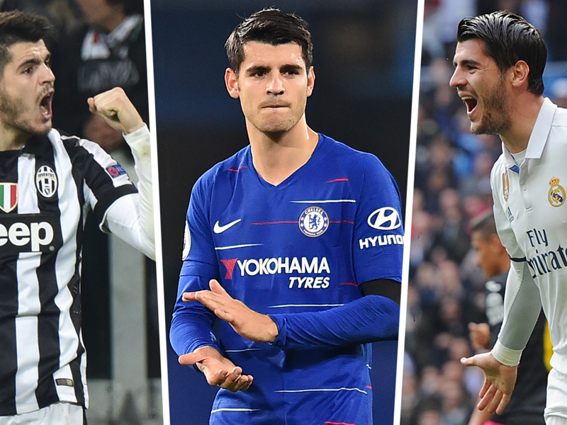From Real Madrid and Juventus star to Chelsea misfit - why Alvaro Morata flopped in England