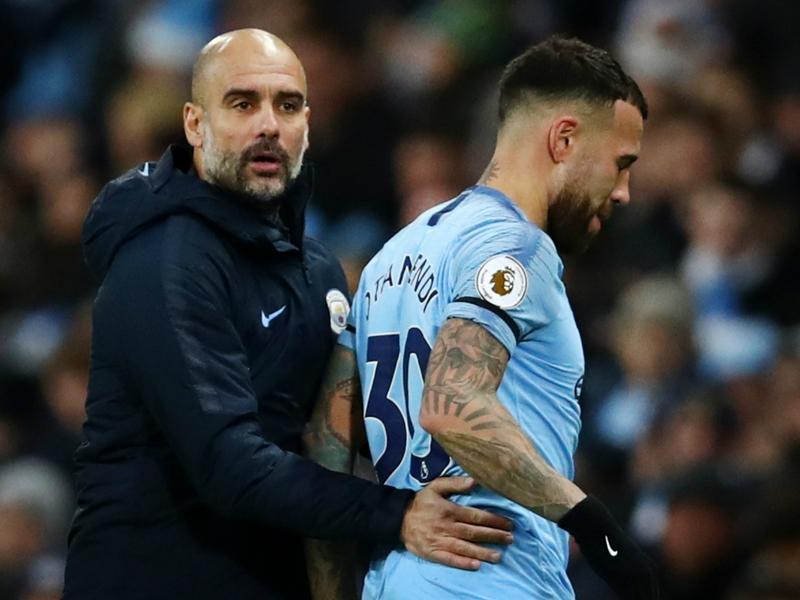 'I don't want sad players here' - Guardiola admits Otamendi isn't happy at Man City