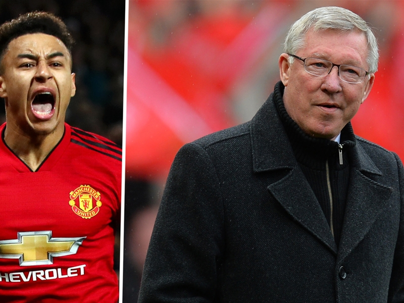 Lingard reveals special meeting with Sir Alex that inspired him to make it at Man Utd