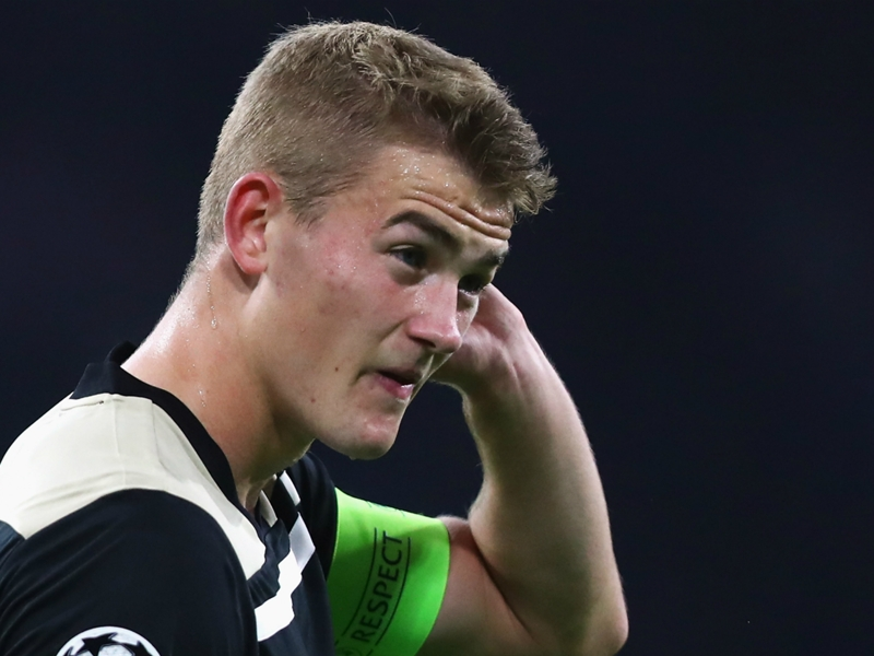 'I'm bored of the rumours' - De Ligt insists Ajax exit links don't bother him