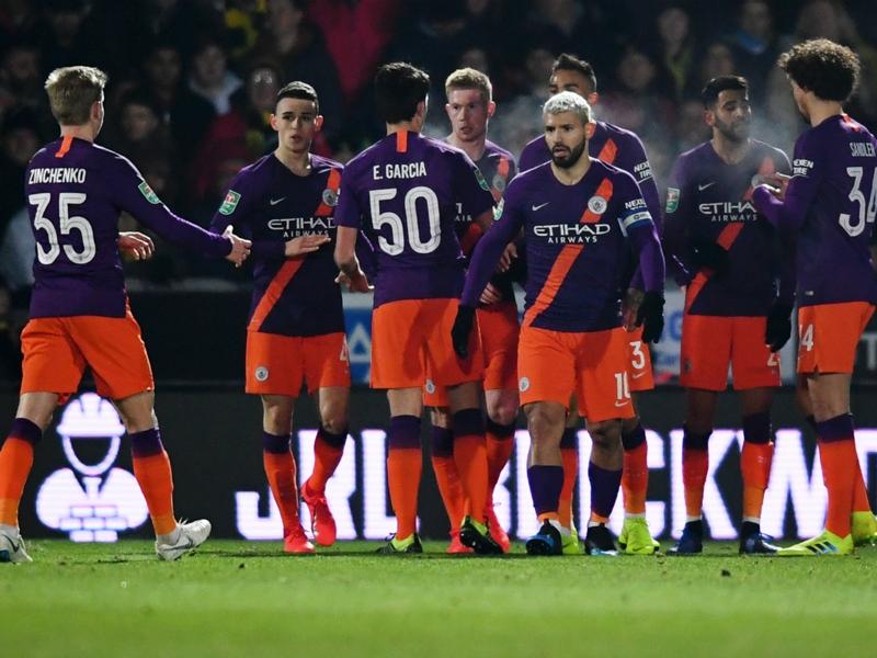 Burton Albion 0 Manchester City 1 (0-10 agg): Holders coast through to clinch Wembley return
