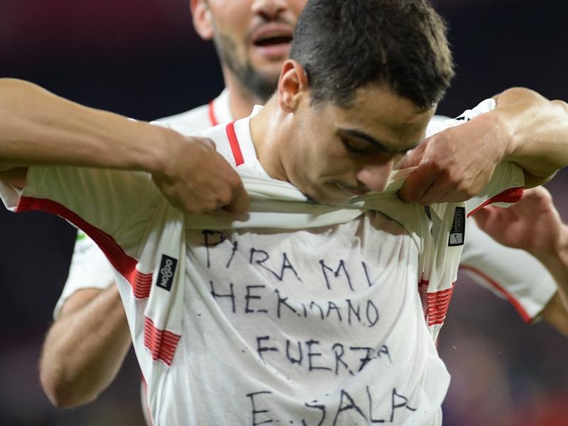 VIDÉO - Buteur contre Barcelone, Ben Yedder rend hommage à Emiliano Sala