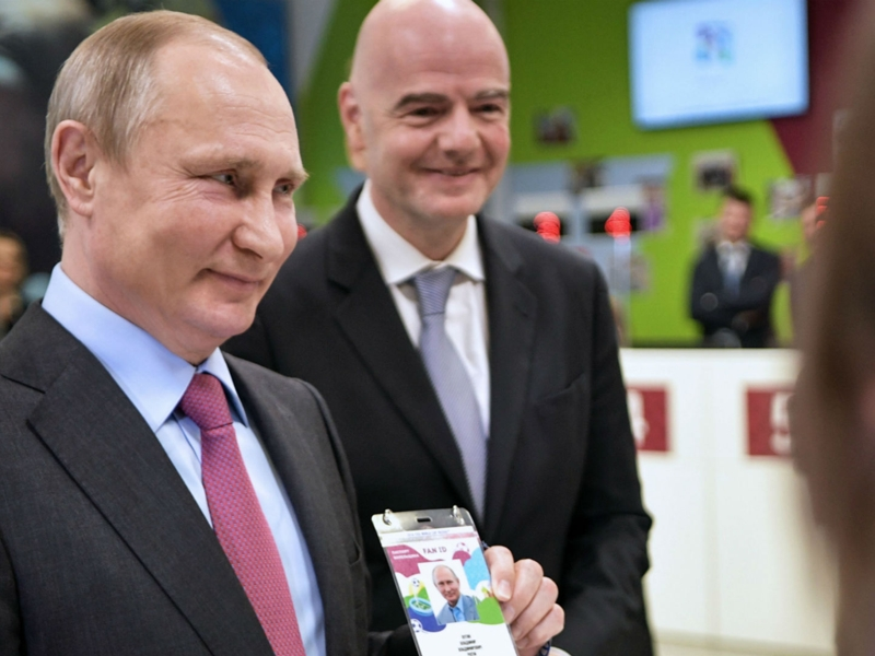 500 Undocumented World Cup fans reported to have slipped out of Russia