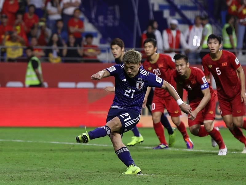 Vietnam 0 Japan 1: Moriyasu's men reach semis as VAR dominates on Asian Cup debut