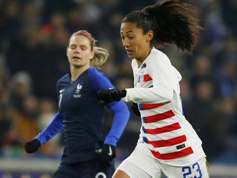 Five takeaways as the USWNT starts 2019 with a split against France and Spain