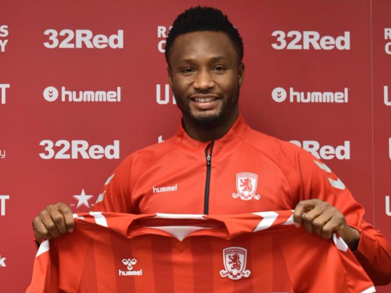 'Let the challenge begin!' - John Obi Mikel set for Middlesbrough debut