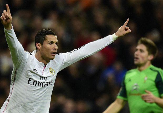 Real Madrid 3-0 Celta Vigo : Ronaldo et le Real dominent Vigo