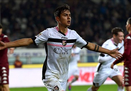 Otro gol de Dybala en Palermo