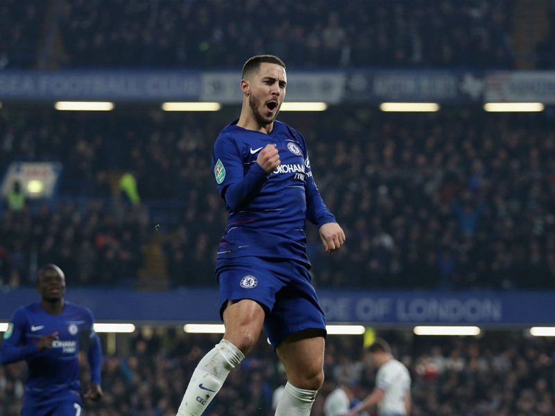 Chelsea 2 Tottenham 1 (2-2 agg, 4-2 on penalties): Blues advance to EFL Cup final