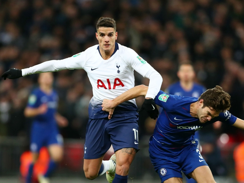 'It's hard but we need to keep going' - Lamela calls for Spurs to bounce back quickly after Carabao Cup exit