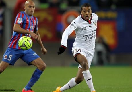 Résumé de match, Caen-Nice (2-3)