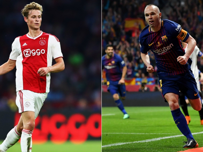 'De Jong more Iniesta than Busquets' - Ajax scout sings praises of Barcelona's €86m new boy