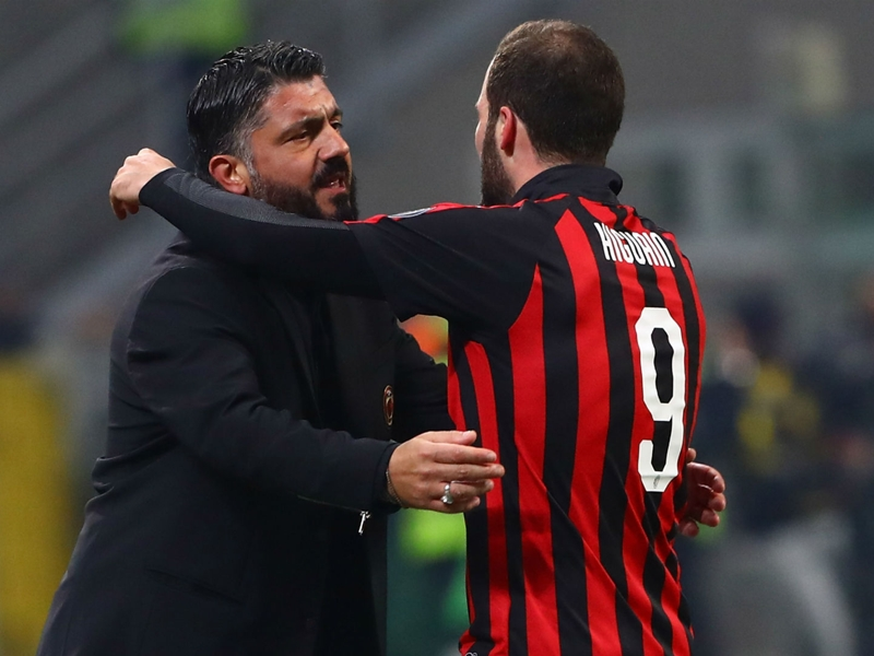 'He made his choice' - Gattuso ready to move on from Higuain