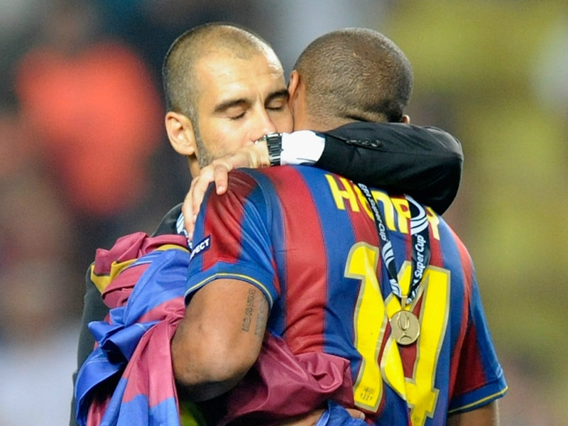 Pep Guardiola sorry for Thierry Henry over Monaco suspension