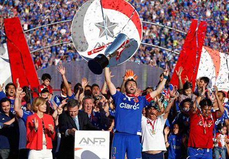 La 'U' de Chile, campeón del Apertura