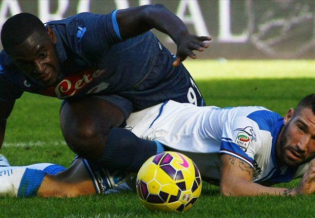 Napoli 2-2 Empoli: Fourth successive draw for Partenopei