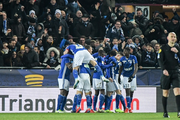 VIDÉO - Strasbourg qualifié en finale de la Coupe de la Ligue, la Meinau était à l'unisson avec ses héros