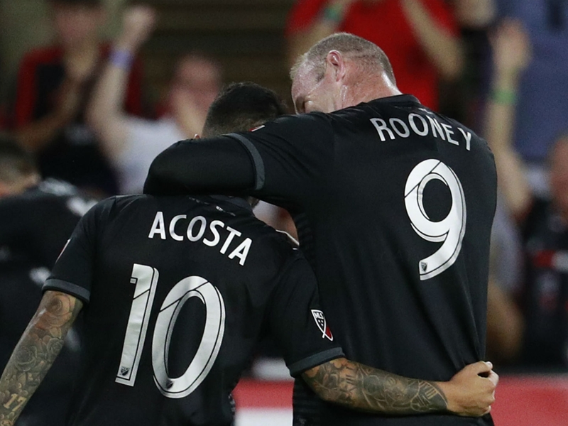 Rooney: Acosta 'one of the best I've played with'