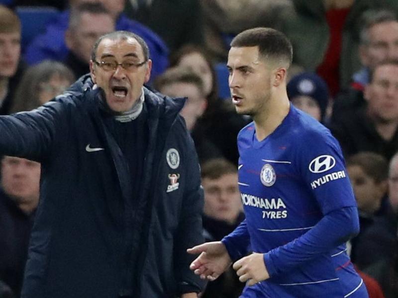 """Chelsea, Eden Hazard : """"Maurizio Sarri et moi avons la même vision du football"""""""