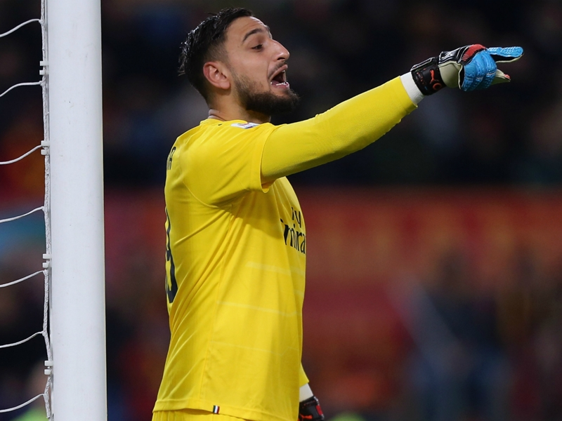 Roma 1 AC Milan 1: Donnarumma frustrates hosts