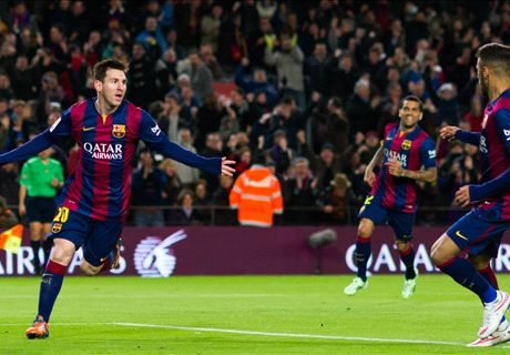 Barcelona ganó gracias a Messi