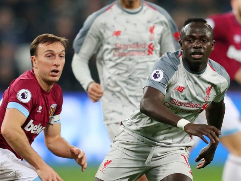 West-Ham-Liverpool 1-1, les Reds calent de nouveau