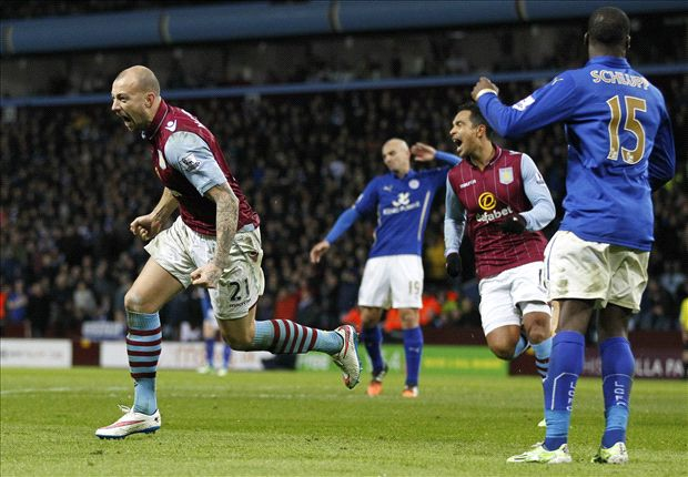 Aston Villa 2-1 Leicester City: Foxes in big trouble after ill-tempered clash