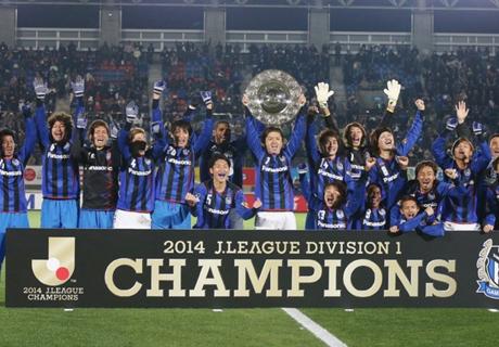 Gamba Osaka é campeão japonês