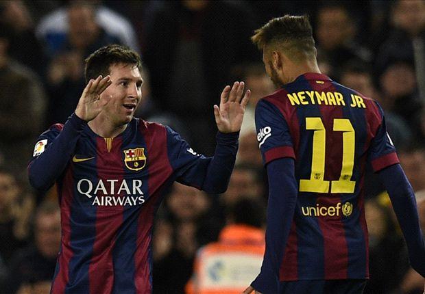 Gestern Ronaldo, heute schnürte Messi einen Dreierpack für sein Team