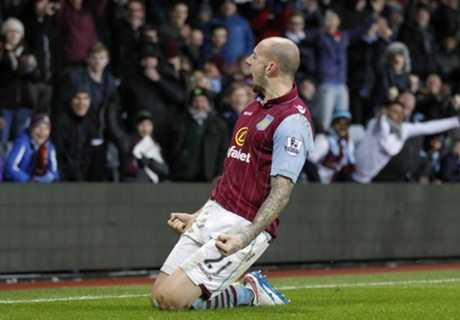 Villa 2-1 Leicester: Unlikely heroes