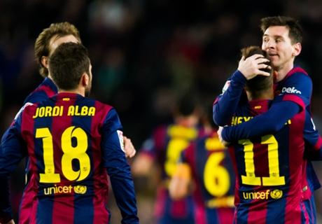 Postales de Barcelona 5-1 Espanyol