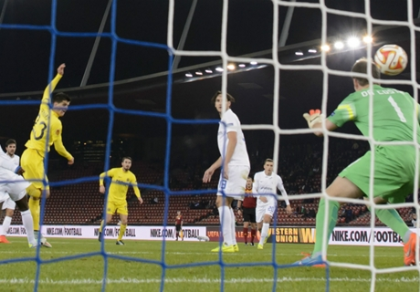 Résumé de match, Villarreal-Real Sociedad (4-0)