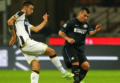 Player Ratings: Inter 1-2 Udinese