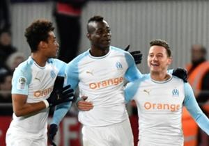 Hasil Pertandingan: Dijon 1-2 Olympique Marseille