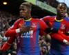 Zaha celebrates against West Ham