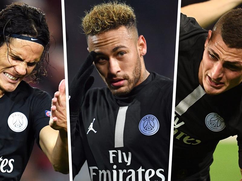 No Neymar, no Cavani, Verratti unfit: Decimated PSG in huge trouble against Man Utd