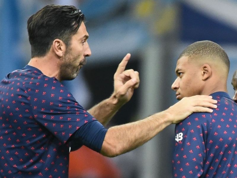 Buffon: Normal for Mbappe to