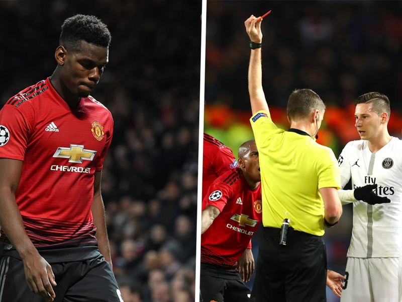 Pogba out of PSG return leg