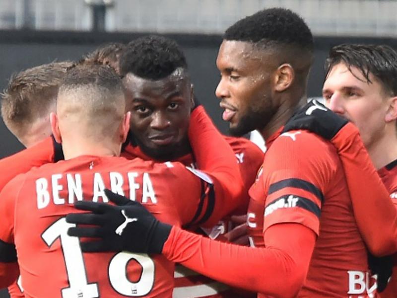 """Rennes-Betis - M'Baye Niang : """"On donnera le maximum pour représenter le club et la France"""""""