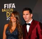Selfie de Messi por cumple de Antonella