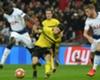 Borussia Dortmund's Christian Pulisic in action against Tottenham