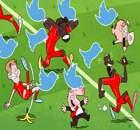 Caricatura: Liverpool sufre por Twitter