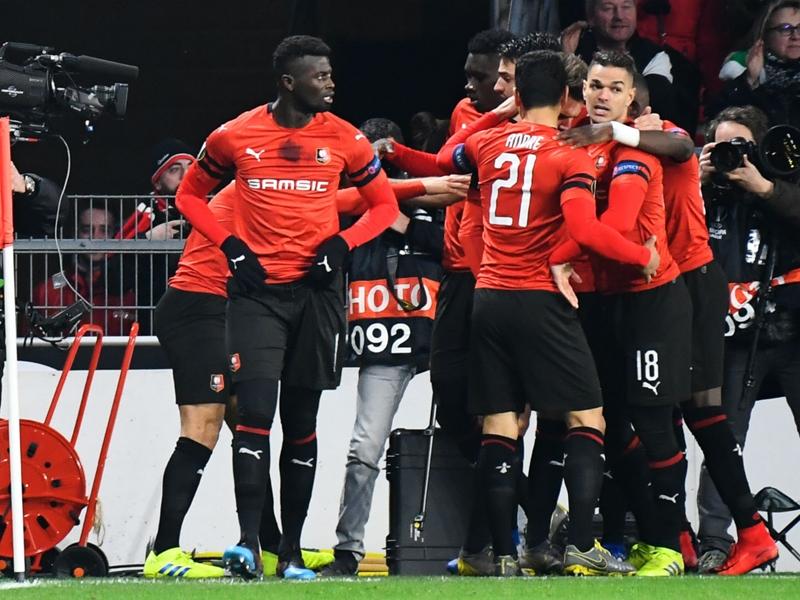 Ligue Europa - Les buts de Rennes contre le Betis Séville en vidéo