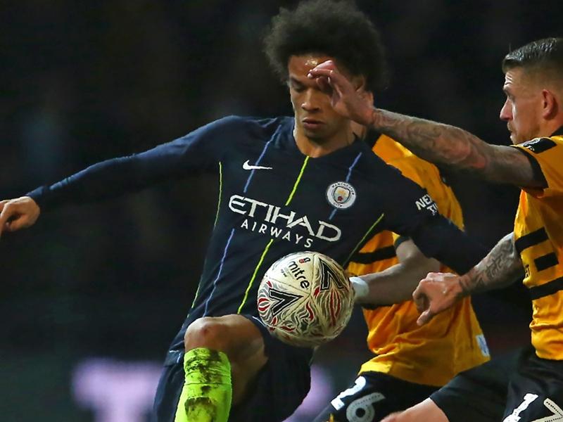 Newport-Manchester City 1-4, les Citizens au diesel