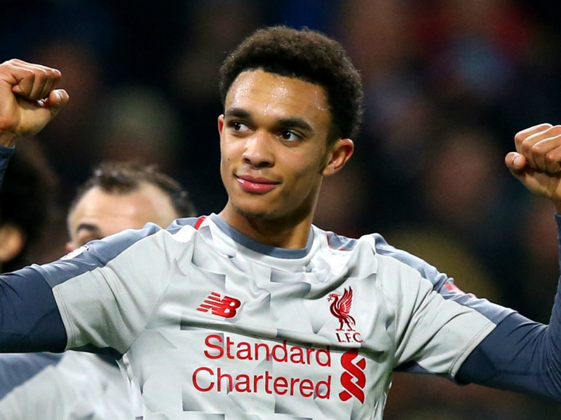 Liverpool's Alexander-Arnold aiming to be a legend like former England star Cole