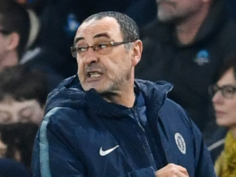 72b08a05d8c6 'Sarri loves his work to point of madness!' - De Laurentiis hopes Chelsea  keep under-fire coach