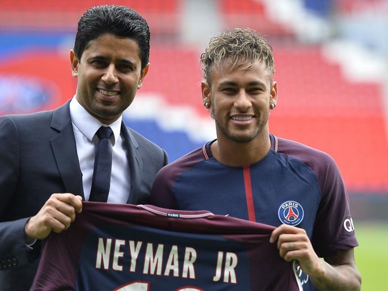 PSG, Nasser Al-Khelaïfi envoie un message au Real Madrid pour Neymar et flatte Mbappé